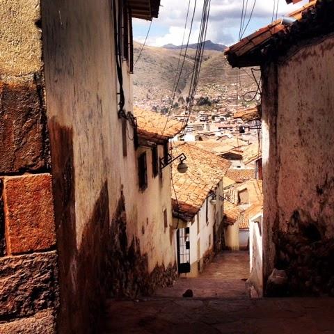 Las calles del Cusco