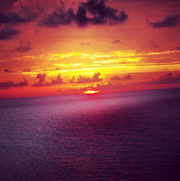 Amanecer en Cancún
