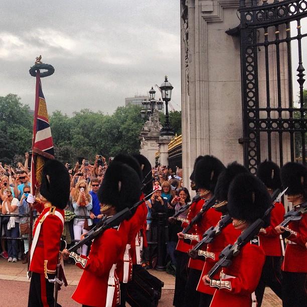 Cambio de guardia, Londres