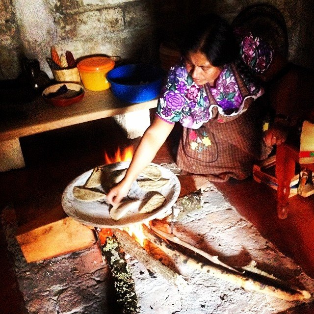 Zinacantan, Chiapas Las mejores quesadillas de mi vida