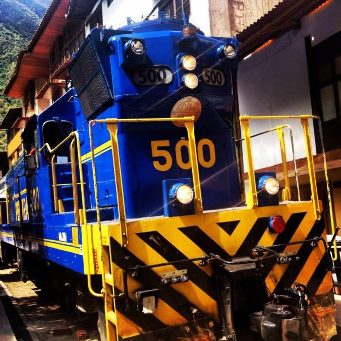 Tren de Cusco a Aguascalientes Perú