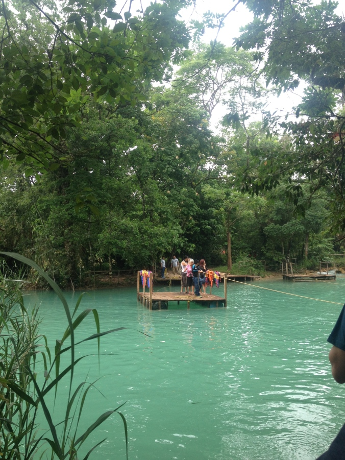 Un mmm no se jaja en Agua Azul, Chiapas